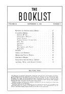 A.L.A. Booklist