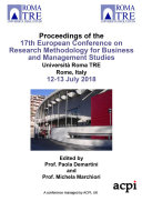 ECRM 2018 17th European Conference on Research Methods in Business and Management