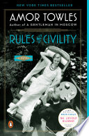 Rules of Civility Amor Towles Cover