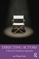Directing Actors Book