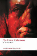 The Oxford Shakespeare  The Tragedy of Coriolanus