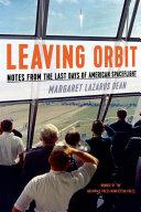 Leaving Orbit Book PDF
