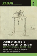 Execution Culture in Nineteenth Century Britain [Pdf/ePub] eBook