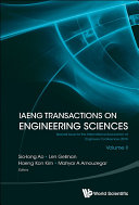 Iaeng Transactions On Engineering Sciences: Special Issue For The International Association Of Engineers Conferences 2016