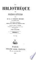 La bibliothèque des prédicateurs: Morale