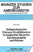 Zeitgenössische Chicano-Erzählliteratur in englischer Sprache