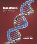 Biocalculus: Calculus, Probability, and Statistics for the Life Sciences
