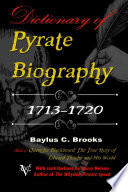 Dictionary Of Pyrate Biography