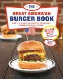 The Great American Burger Book Pdf/ePub eBook