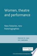 Women  Theatre and Performance