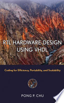 RTL Hardware Design Using VHDL Book