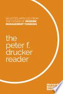 The Peter F  Drucker Reader