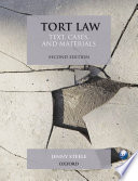 """Tort Law: Text, Cases, and Materials"" by Jenny Steele"