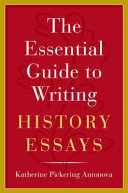 link to The essential guide to writing history essays in the TCC library catalog