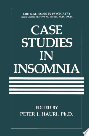 Download Case Studies in Insomnia Free Books - Dlebooks.net