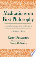 Meditations on First Philosophy  Meditationes de prima philosophia