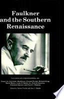 Faulkner and the Southern Renaissance