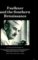 Pdf Faulkner and the Southern Renaissance Telecharger