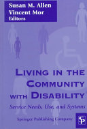 Living in the Community with Disability
