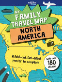 North America - My Family Travel Map