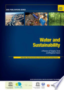 The United Nations World Water Development Report N 4 Water And Sustainability A Review Of Targets Tools And Regional Cases