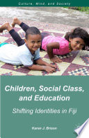 Children  Social Class  and Education