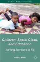 Children, Social Class, and Education Pdf/ePub eBook