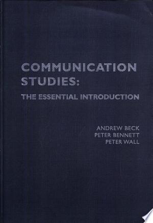Read Online Communication Studies Full Book