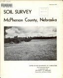 Soil Survey  McPherson County  Nebraska