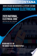 Montana 2020 Journeyman Electrician Exam Questions And Study Guide