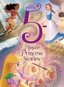 Disney Princess 5 Minute Princess Stories