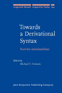 Towards a Derivational Syntax