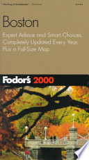 Fodor's 2000 Boston