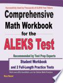 Comprehensive Math Workbook for the ALEKS Test