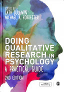 Doing Qualitative Research In Psychology PDF