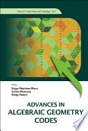 Cover image of Advances in algebraic geometry codes