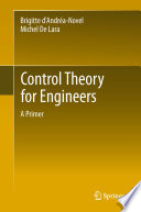 Control Theory For Engineers Book PDF