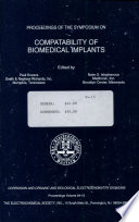Proceedings of the Symposium on Compatability of Biomedical Implants
