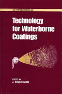 Technology for Waterborne Coatings