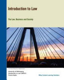 Cover of (Aucm) Introduction to Law for University of Wollongong