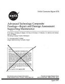 Advanced Technology Composite Fuselage - Repair and Damage Assessment Supporting Maintenance