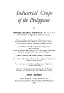 Industrial Crops in the Philippines