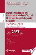 Domain Adaptation and Representation Transfer, and Distributed and Collaborative Learning