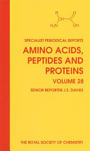 Pdf Amino Acids, Peptides and Proteins Telecharger