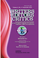 Writers Editors Critics (WEC) Vol. 6, No. 2