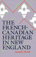 The French Canadian Heritage in New England