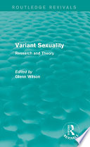 Variant Sexuality Routledge Revivals