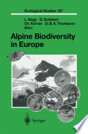 Alpine Biodiversity in Europe
