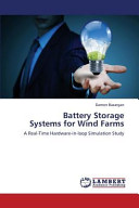Battery Storage Systems for Wind Farms Book