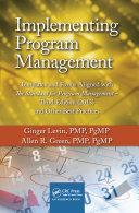 Implementing Program Management